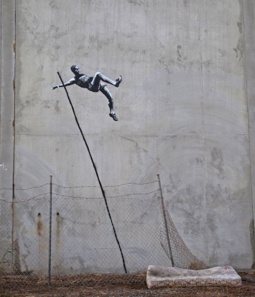 > Banksy gets up in London for the Olympics - Photo posted in Wild videos, news, and other media | Sign in and leave a comment below!