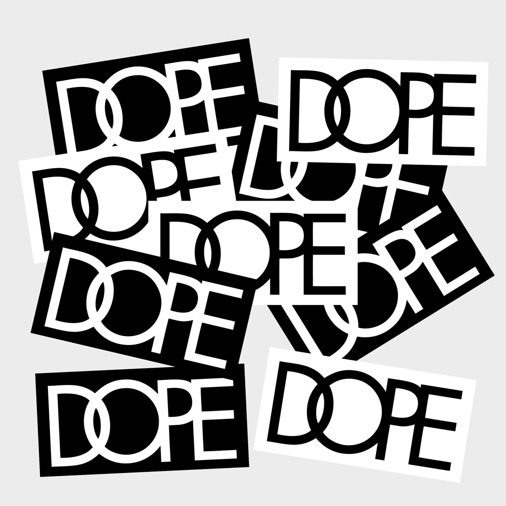 Free dope stickers