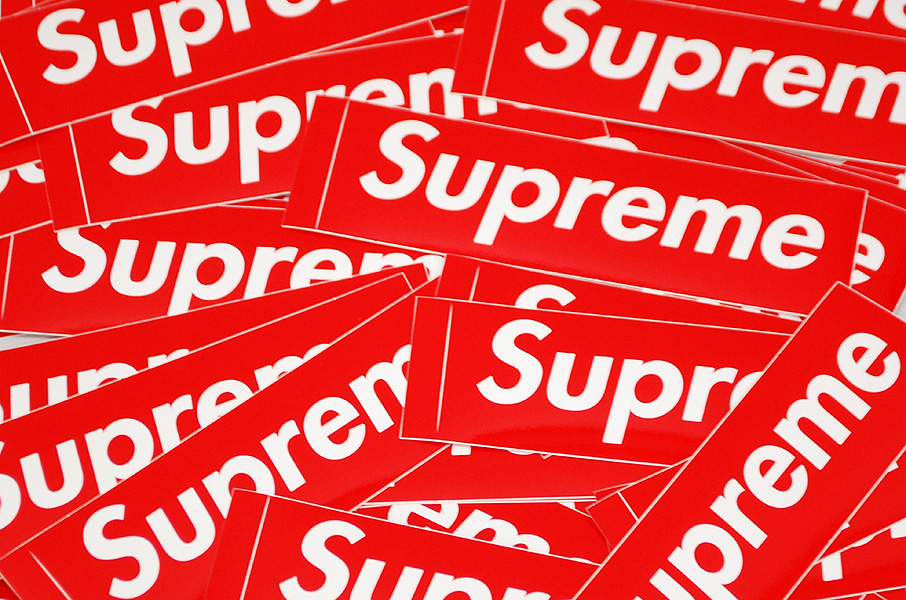 free supreme stickers