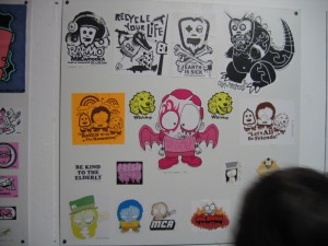 Sticker Throw 2004