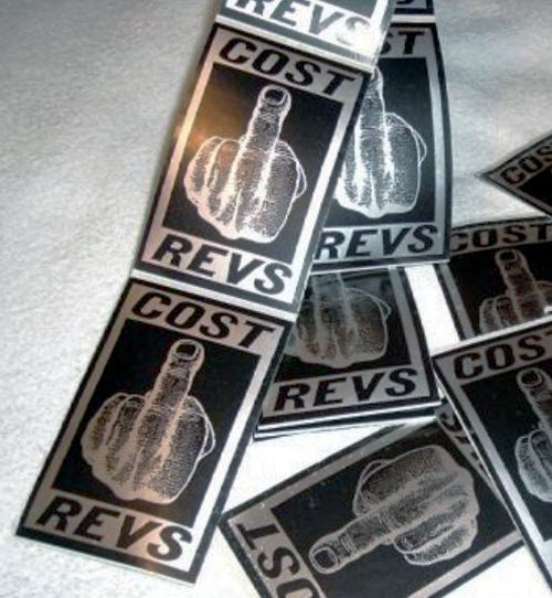 Cost revs original authentic graffiti movement stickers