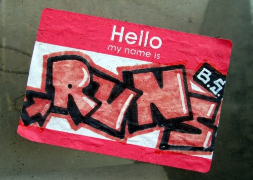 My Name Is Name: All City Stickers